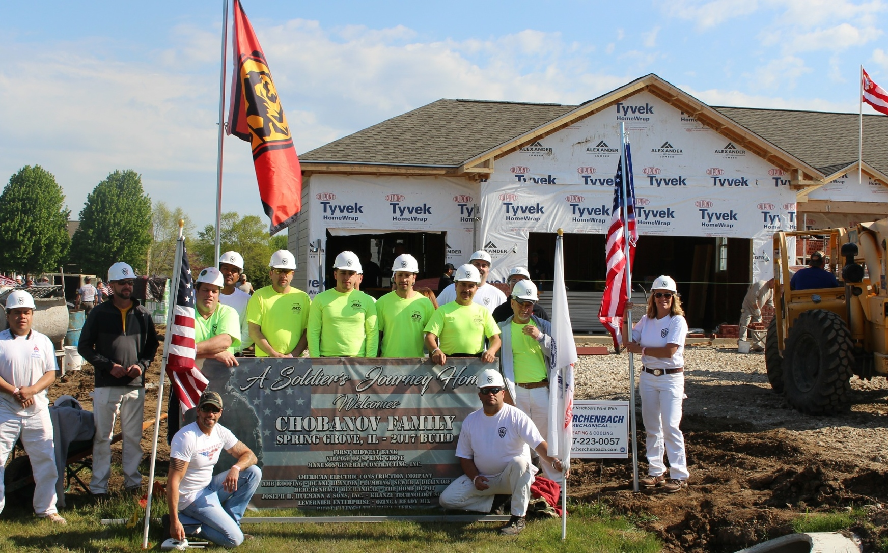 Local Hero Tony Chobanov Awarded New Home With Help of PDC 30 Community Service Grant
