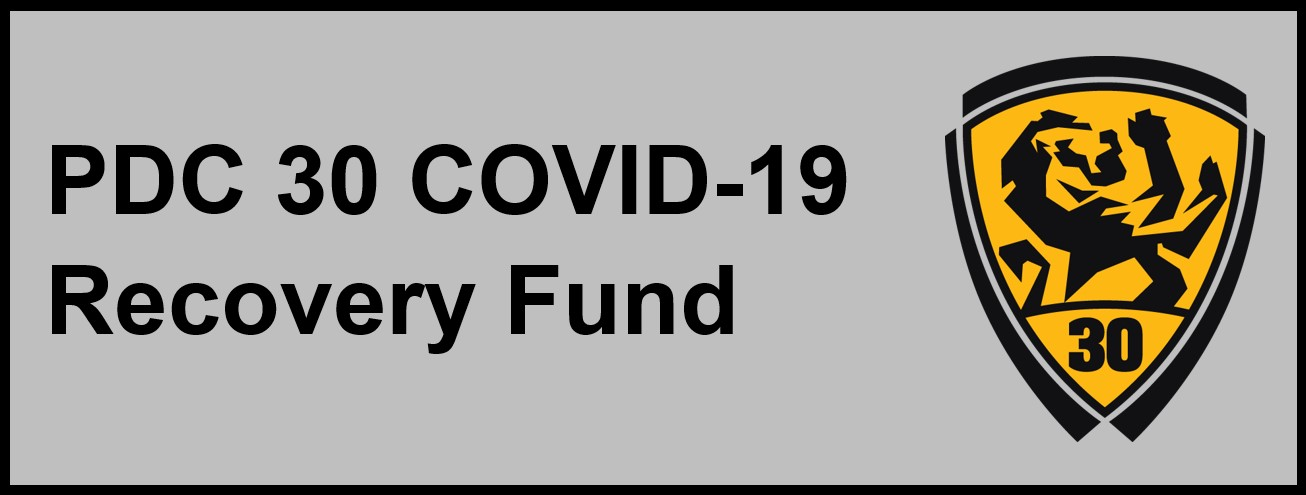PDC 30 Launches COVID-19 Recovery Fund for Members
