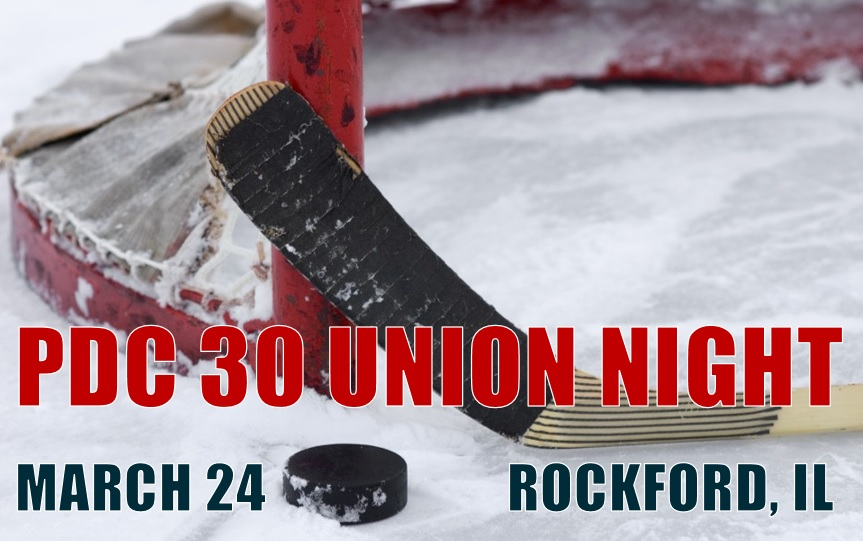 Rockford Union Night: March 24